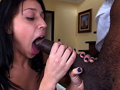 Yenny With An Appetite For Big Black Dicks