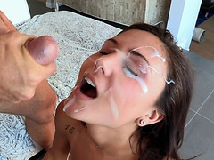 Ariana Marie enjoys a good fucking and censoredt facial