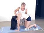 bf anal fucks yoga girlfriend