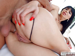 AllInternal Dirty Kitty Lovedream sucks cock after anal