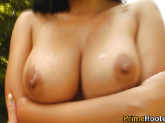 Big titted whore creamed