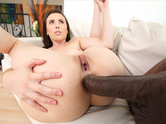 Casey Calvert gets assfucked by monster cock