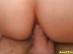 Butt sex adoring girlfriend nailed hard
