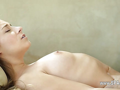 hot hardcore sex of tricky spa material