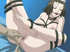 Bondage hentai nurse gets fingered and hard fucked by naughty docktor