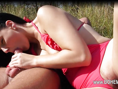 super hot outdoor loving