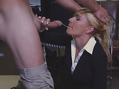 Holly got paid fucking her juicy wet pussy