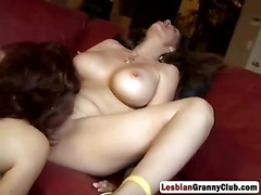 Mature Bitches Having Great Lesbo Action
