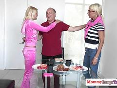 Busty swedish milf fucks her stepdaughters bf