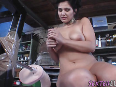 Solo german fucked by toy