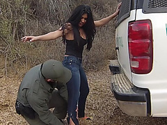 Stunning Alejandra Gets Caught
