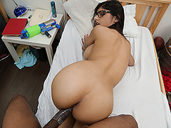 Sweet chick Mia Khalifa having a meaty cock in her pussy