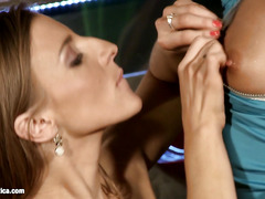 Pussy Lickers by Sapphic Erotica - lesbian love porn with Lila - Morgan