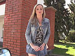 Tight blond teen Vinna Reed sex for cash