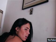 Nasty girlfriend Ashton Marie fucked pov