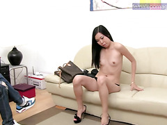 Asian gets a sexy photoshoot