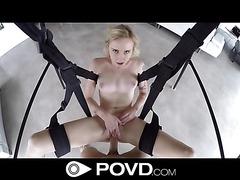 Peyton Coast Sex Swing Soiree