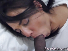 Teen stepsister pounded