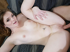 Right now Stacey is horny and wants some of Richies sibling dick