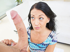 Kelly gets a big hard dick into her cute tight pussy