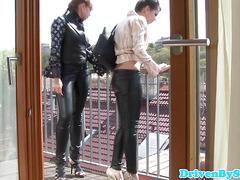European teen lesbians rimming eachothers ass