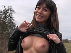 Russian MILF Mona Kim is down to fuck for fun and cash