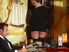 Maddy O Reilly office babe pussyfucked by her boss
