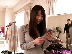 Tiny asian Aika Yumeno enjoys getting drilled