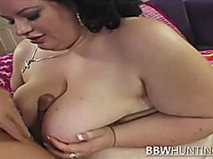 BBW Babe Chrystal Starts With A Blowjob