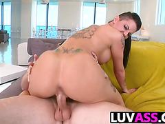 Christy Mack likes her hard anal ass pounding