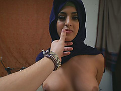 Super hot Arab girl gets fucked in various positions