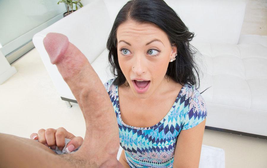 Surprised Francesca Gets That Big Cock
