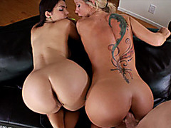 Valentina Nappi and Simone Sonay 3some