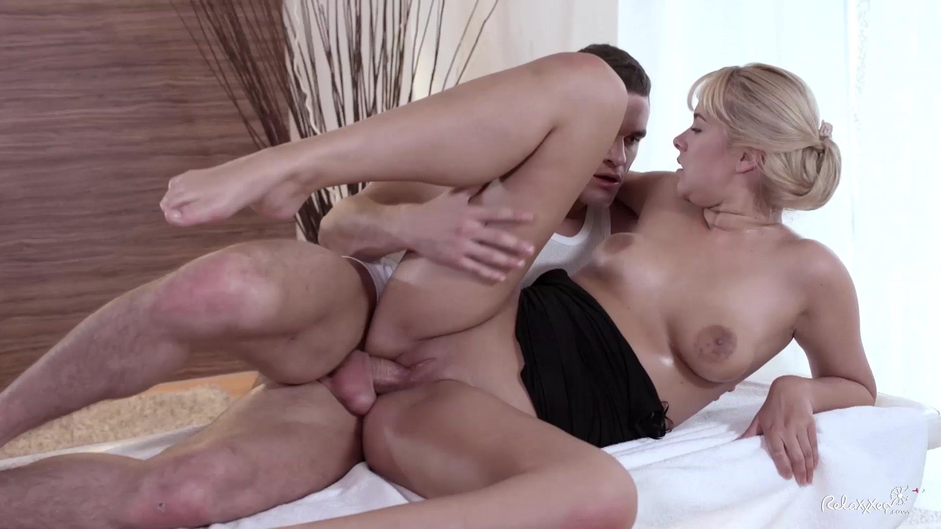Hot blonde erotic