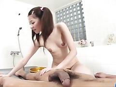 Rika Koizumi loves feeling cock in her hairy cherry