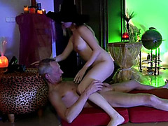 Gorgeous Blonde Teen Fucked Hard By Older Guy