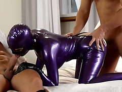 Latex and extremely fashionable fetish actions