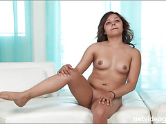 Perky spinner Tila returns for more cock and ball sucking and her patented slurpy beejs What a cutie