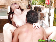 Teen fucked by big cock