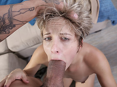 Teen Makenna Blue desires cock punishment