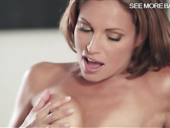 Silvia Lauren and Nataly Von horny threesome session
