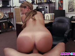 The Sexy Waitress And Her Pussy In The Pawnshop