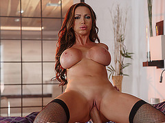 A very exciting fucking session with Nikki Benz and Danny D