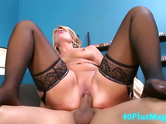 Big Cock For Juicy Experienced Mom