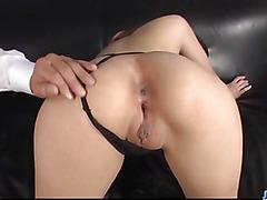 Amazing POV oral along curvy assRiona Suzune