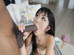 Marica Hase fits that big cock in her mouth