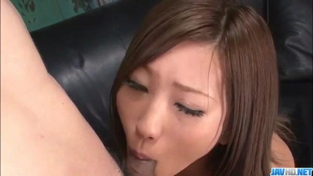 Aika japan model devours cock in pov style 7