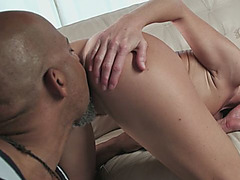 India Summer Sucking Monster Black Cock Doggy Style