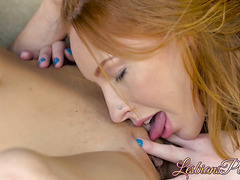 Blake Eden and Katy Kiss are having steamy hot lesbian sex