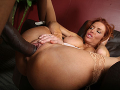 Veronica Avluv Gets Off On A Black Cock